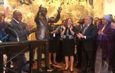 Ramaphosa unveils statue of Madiba at UN headquarters
