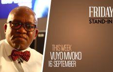 SABC suspended journalist Vuyo Mvoko hosts the Redi Tlhabi show