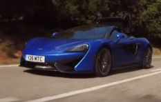 WATCH: Ciro De Siena gets behind wheel of Mclaren 570S Spider
