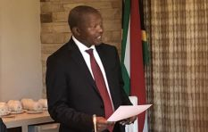 Deputy President David Mabuza answers questions in Parliament