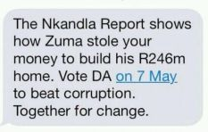 ANC loses Con Court bid against DA-Zuma electoral SMS campaign