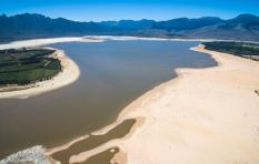 Photographer captures Cape's dwindling dam levels with a drone