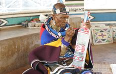 Artist Esther Mahlangu: A dynamic South African ambassador in NY