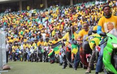 Thousands of ANC supporters gather ahead of the Manifesto launch
