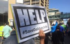 Oakbay employees march to Absa, FNB and Standard Bank with demands