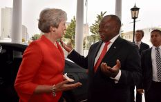 [LISTEN] UK Prime Minister Theresa May supports SA's land reform