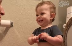 [WATCH] 'I didn't poop, I peed,' kid excited that he went potty successfully