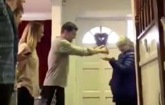 [WATCH] Family welcoming nurse mom home differently everyday goes viral