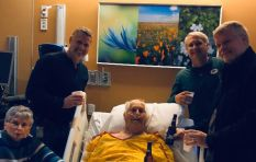 Grandpa's deathbed wish to have last beer with sons has social media talking
