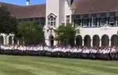[WATCH] Grey High School's Siya Kolisi chant gives us goosebumps