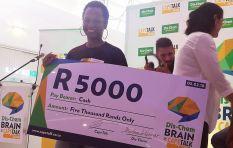 Zuki Makuzeni crowned first Dis-Chem Brain of Cape Talk finalist