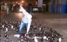 [VIDEO] Why is Jub Jub destroying so much alcohol?