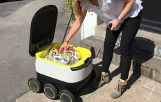A robot delivery service launched in the UK