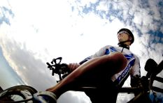 Table Mountain trail network for bikers, after long push