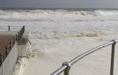 Meteorologist warns of wind and waves #CapeStorm