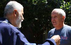 John Robbie visits Gordonia Home
