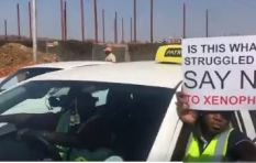 Tshwane taxi drivers march against xenophobia and gender-based violence