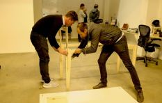 You can assemble this furniture with no tools or nails (It's like playing Jenga)