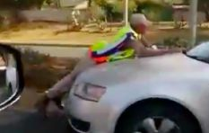 [VIDEO] Driver goes to extreme lengths to avoid a ticket, takes cop for a ride