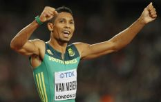 Olympic champ Wayde van Niekerk opens up about his knee injury and recovery