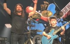 Meet the 10-year-old boy who rocked a Foo Fighters concert