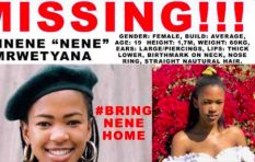 Twitter rallies behind search for missing UCT teen #BringNeneHome