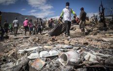 Imizamo Yethu fire victims begin rebuild after devastating blaze