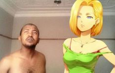 Man in public love affair with Dragon Ball Z's Android 18 - and it's complicated