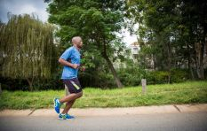 Xolani Gwala lands in London to run for Teddy Bear Clinic