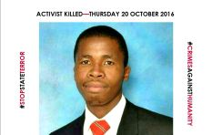 Touching tributes pour in for Fees Must Fall activist Lesego Benjamin Phehla
