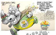 [CARTOON] #TeamSA Gives It Horns!