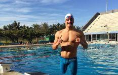 Shark survivor Caleb Swanepoel scoops the Great Optimist Race