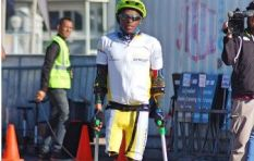 [WATCH] Disabled athlete Xolani Luvuno perfoms well at Ironman challenge