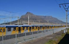 Metrorail station set alight by protesters and alternative arrangements made