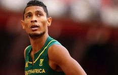 Wayde van Niekerk out of action after tag rugby game in Cape Town