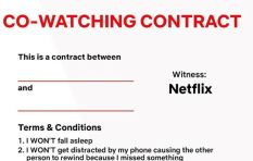 Netflix contract makes sure that your partner doesn't spoil your binge-watching