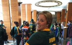 Springbok fans #RWC2015 gees!