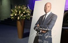 [WATCH] Friends and colleagues bid farewell to Xolani 'Mphephethwa' Gwala