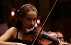 Dad left super proud after young violinist (14) wins gold on national stage