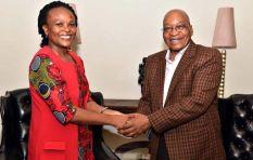 Zuma cannot retain control of state capture inquiry - Mkhwebane