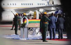 Robert Mugabe's body arrives in Harare