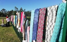 Knitted scarves distributed to thousands in need across South Africa