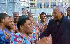 Ladysmith Black Mambazo: One of our fondest moments was with Nelson Mandela