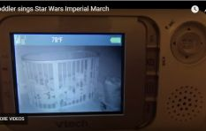 WATCH: Cute baby hums 'Imperial March' from Star Wars in her crib
