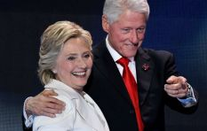 Hillary and Bill Clinton, Caster Semenya at Joburg's Discovery Leadership Summit