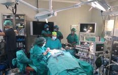 SA doctors use 3D printing in world's first ever middle ear transplant