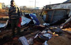 Ekurhuleni Mayor evaluates damage after 120 homes destroyed by Tembisa tornado