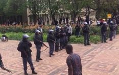 Wits students told to take cover as police open fire on protesters
