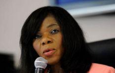 Thuli Madonsela reacts to the Nkandla Report