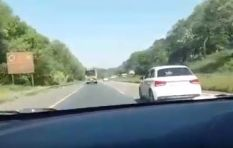 [WATCH] Speeding car crashing on a national road has social media talking